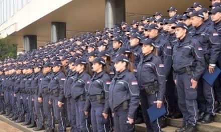 Промоција полицајаца и ватрогасаца