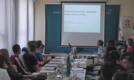 Одржано предавање на тему промена и пројекција будуће климе у Србији