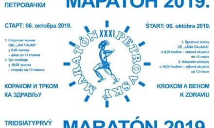 У Бачком Петровцу у недељу 31. Петровачки маратон