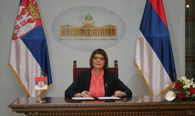 Председница Скупштине Србије расписала локалне изборе