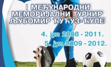 Први  међународни меморијални турнир Љубомир Ћућуз Ћуле