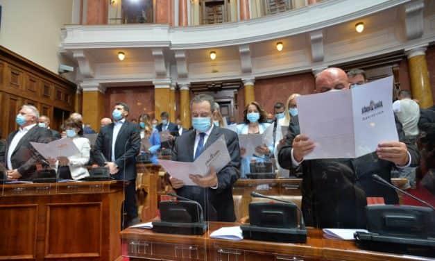 Конституисан нови сазив Народне скупштине Србије