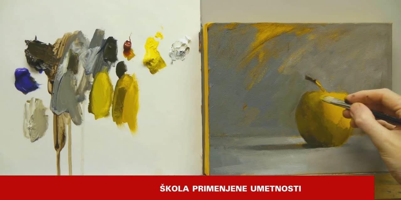 Школа цртања , сликања и примењене уметности у музеју града
